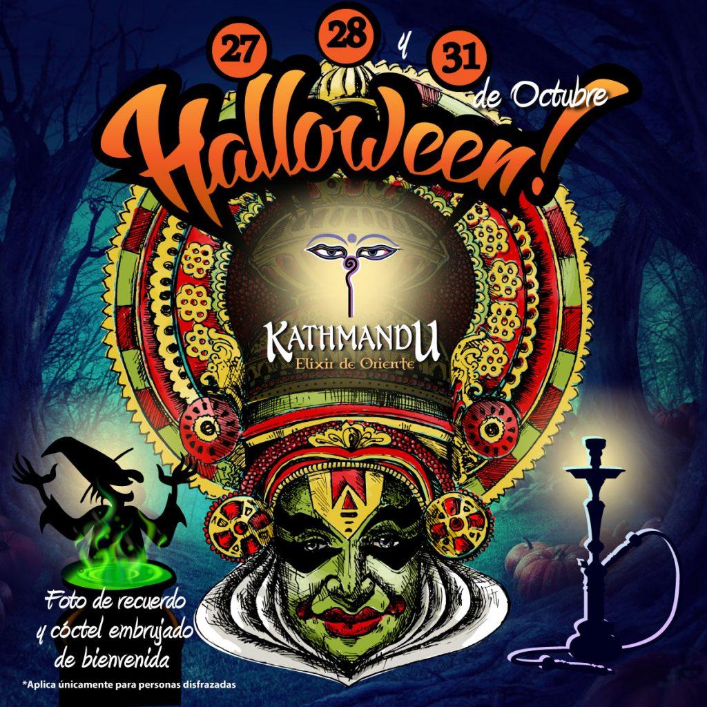 Halloween--Kathmandu